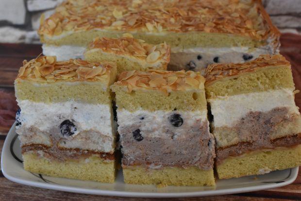 Ciasto Borówkowy chruściak