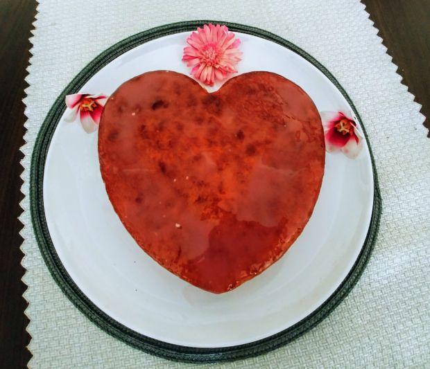 """Ciasto """"Cytrynowe serce"""""""