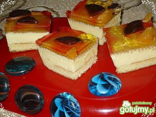 Ciasto cytrynowe z galaretką