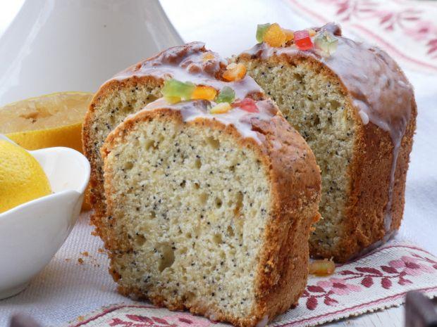 Ciasto cytrynowo-makowe