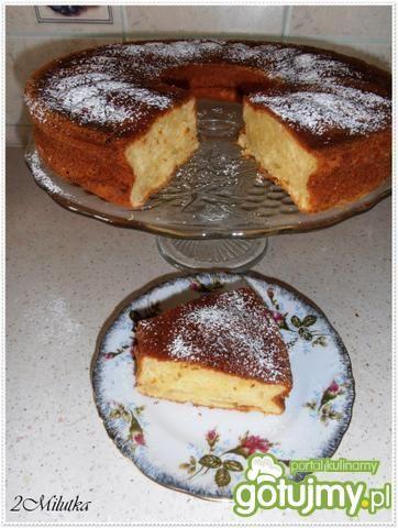Ciasto cytrynowo-serowe