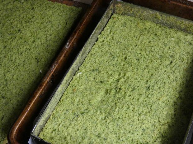 Ciasto cytrynowo-szpinakowe