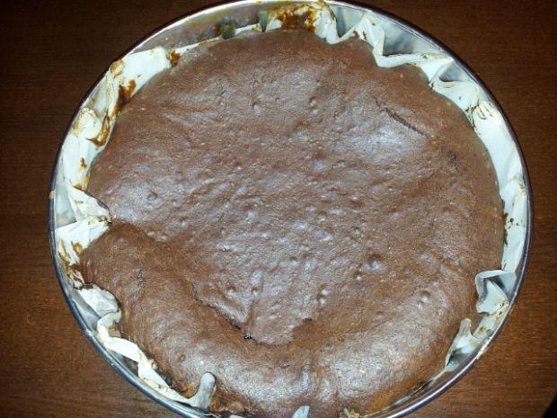 Ciasto czekoladowe z kajmakiem