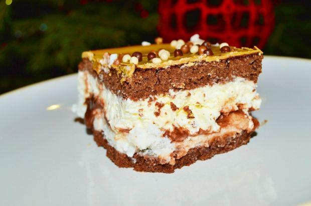 Ciasto czekoladowe z masą śmietankową