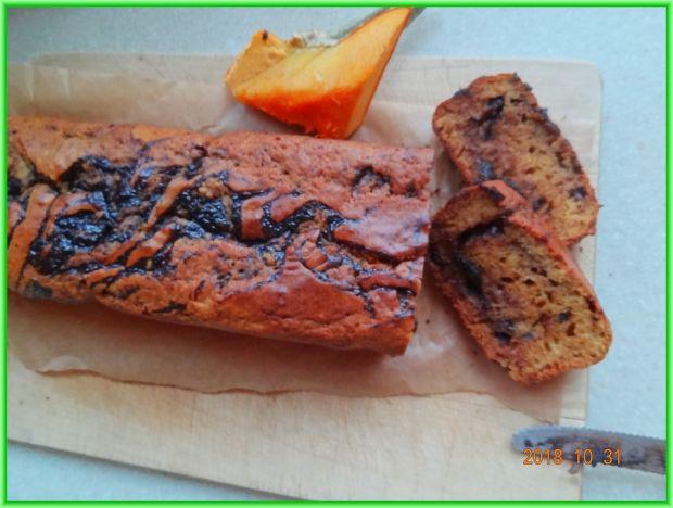 Ciasto czekoladowo - dyniowe