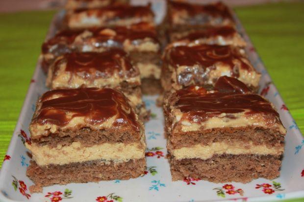 Ciasto czekoladowo-kajmakowe