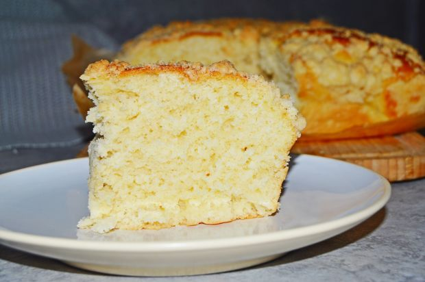 Ciasto drożdżowe (drożdżówka ) z kruszonką