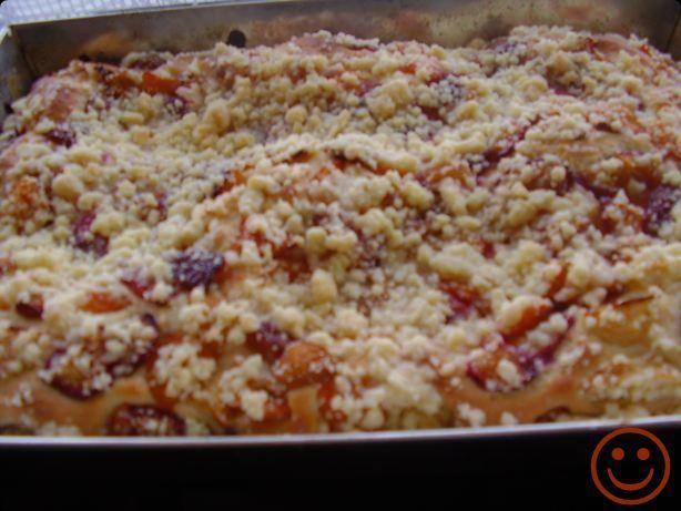 Ciasto drożdżowe- pełnia lata