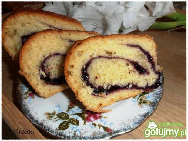 Ciasto drożdżowe z jagodami 4