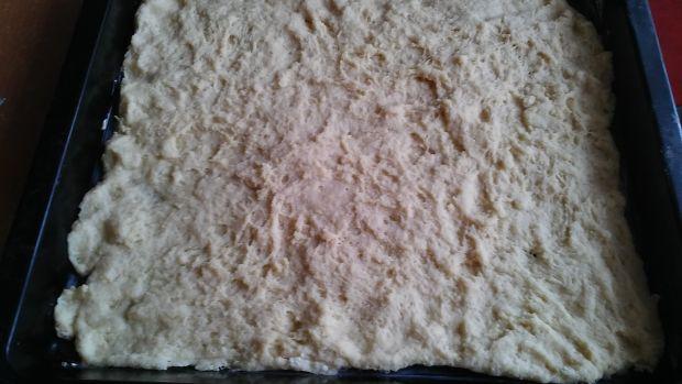 Ciasto drożdżowe z rabarbarem wg Gosi