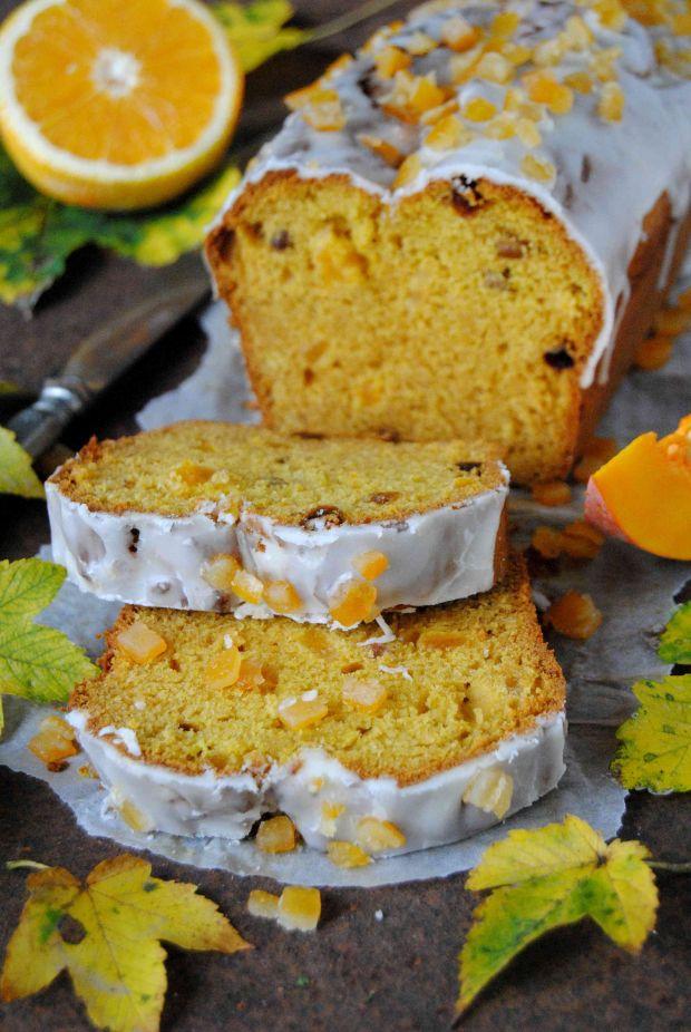 Ciasto dyniowo- pomarańczowe