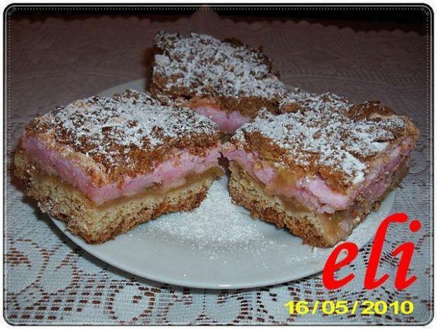 Ciasto Eli z rabarbarem