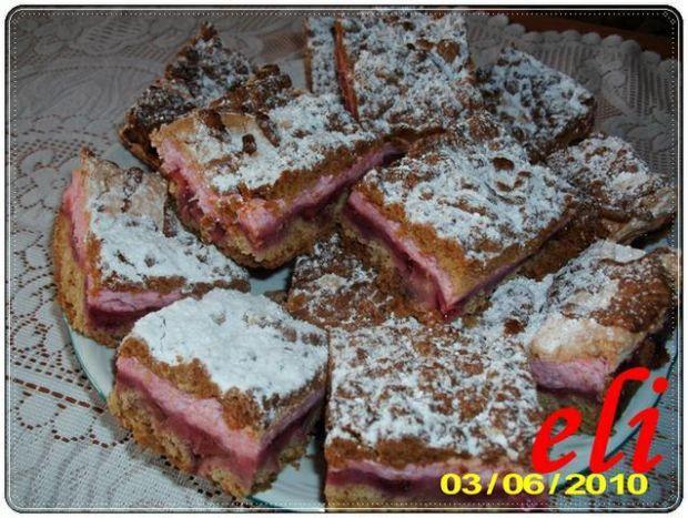Ciasto Eli z truskawkami