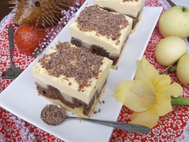 Ciasto ,,Fale Dunaju'' z jabłkami