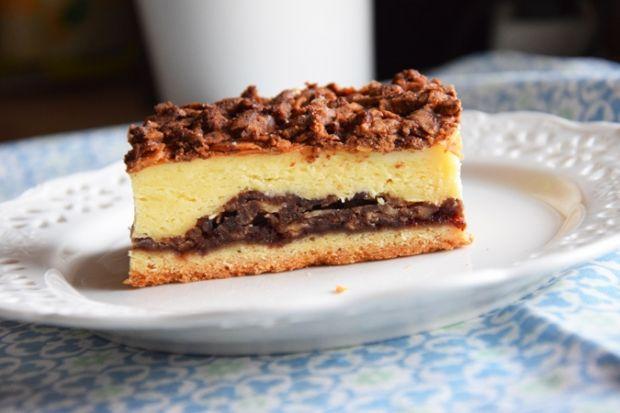Ciasto harataniec z serem i migdałami