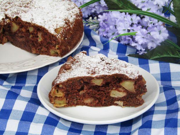Ciasto jabłkowe z orzechami