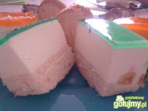 Ciasto jogurtowe z galaretka