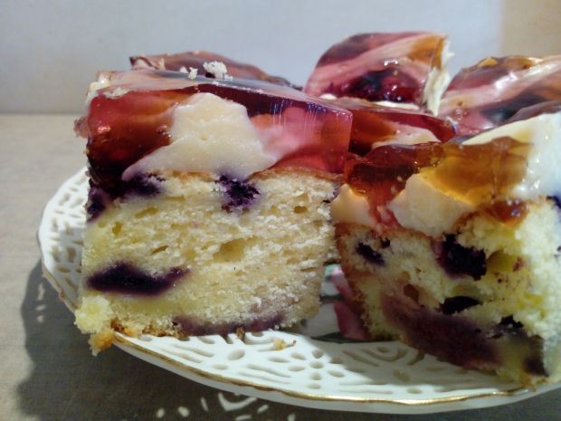 Przepis Ciasto Jogurtowe Z Owocami Budyniem I Galaretka Przepis