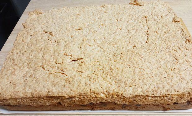 Ciasto kokosowe ze śliwkami