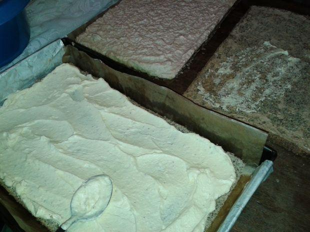 Ciasto kokosowo - czekoladowe