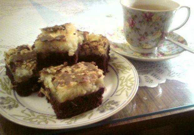 Ciasto kokosowo- jabłkowe