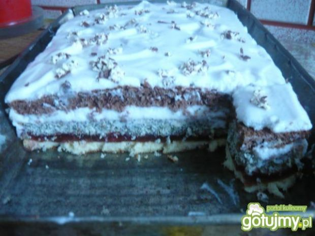 Ciasto kolorowe wg Danusi