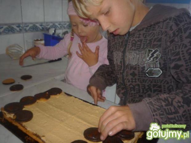 Ciasto krówkowe z delicjami