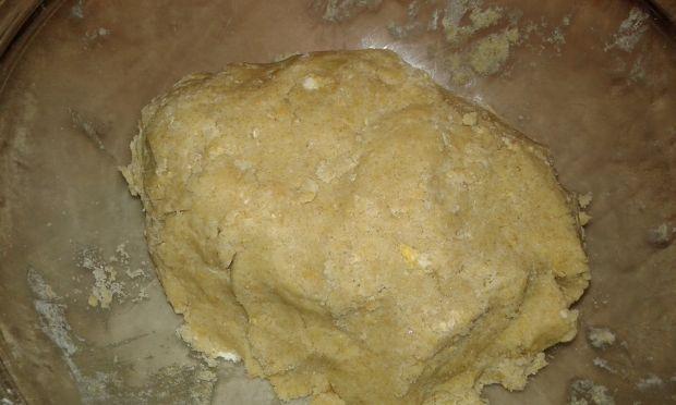 Ciasto kruche jabłkowo - gruszkowo - żurawinowe