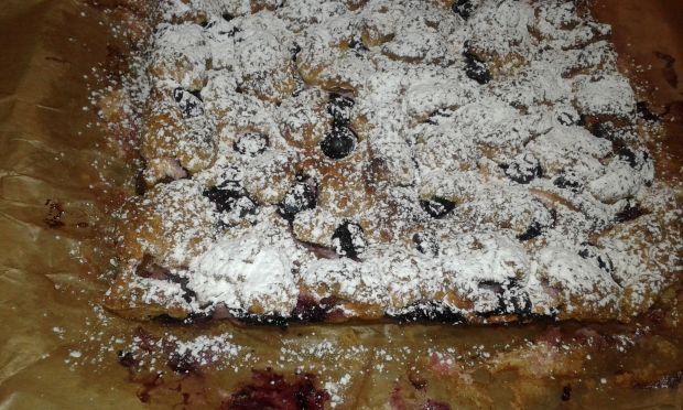 Ciasto kruche orkiszowo - owocowe