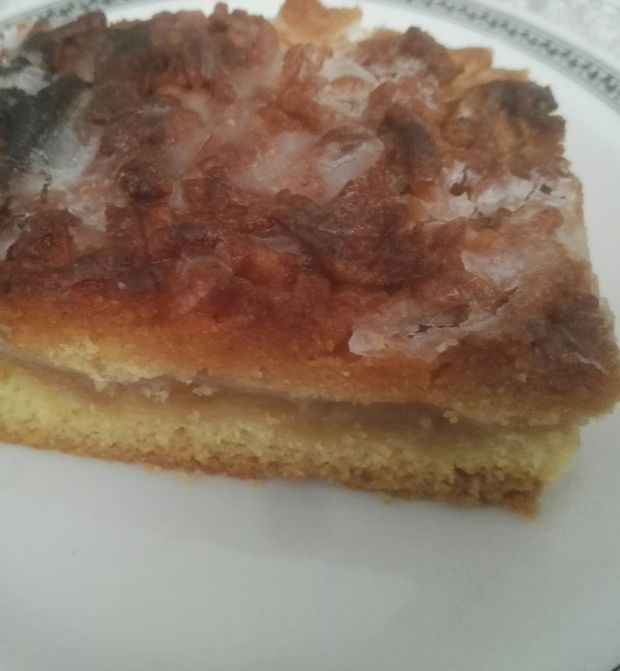 Ciasto kruche z jabłkami i mirabelkami