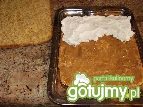 Ciasto kruche z krówką i bitą śmietaną