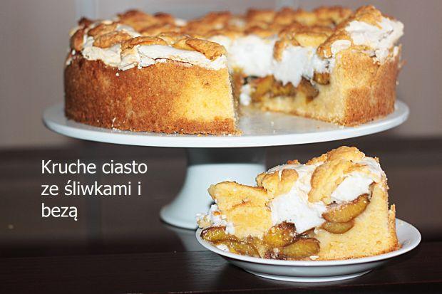 Ciasto kruche ze śliwkami i kruszonką