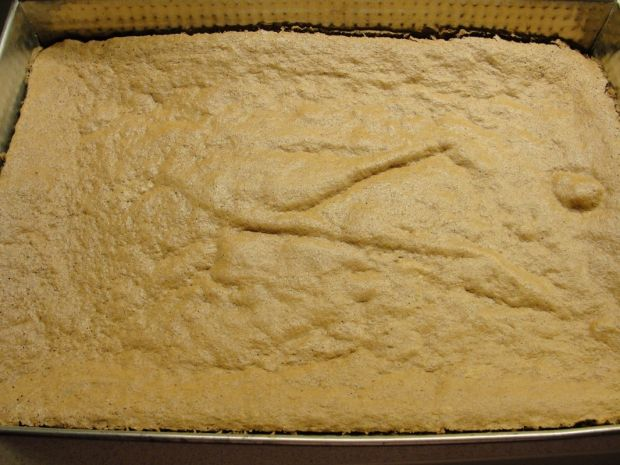 Ciasto kubanka z bitą śmietaną