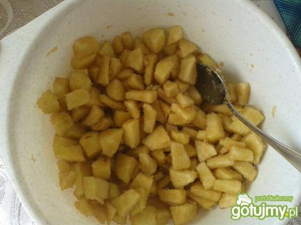 Ciasto makowe z jabłkami i żurawiną