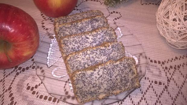 Ciasto makowe z jabłkiem