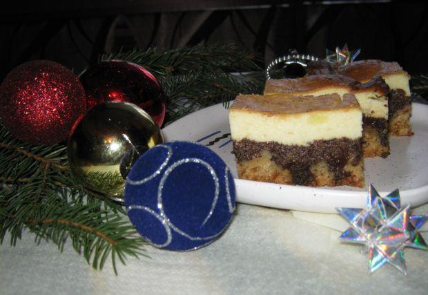 Ciasto makowo serowe
