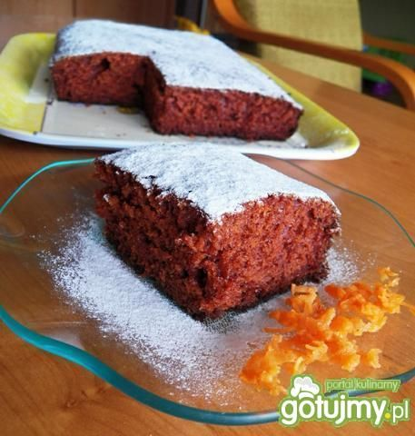 Ciasto marchewkowe jak piernik