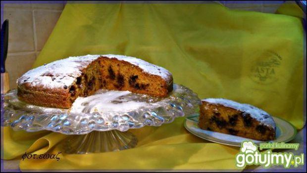 Ciasto marchewkowo czekoladowe