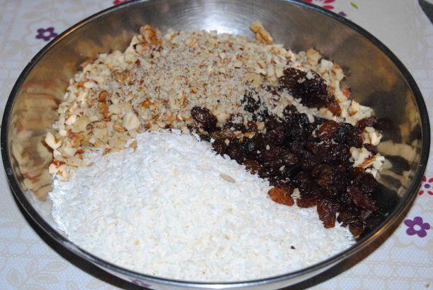 Ciasto marchwiowo- bakaliowe