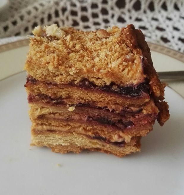 Ciasto Marlenka z dżemem