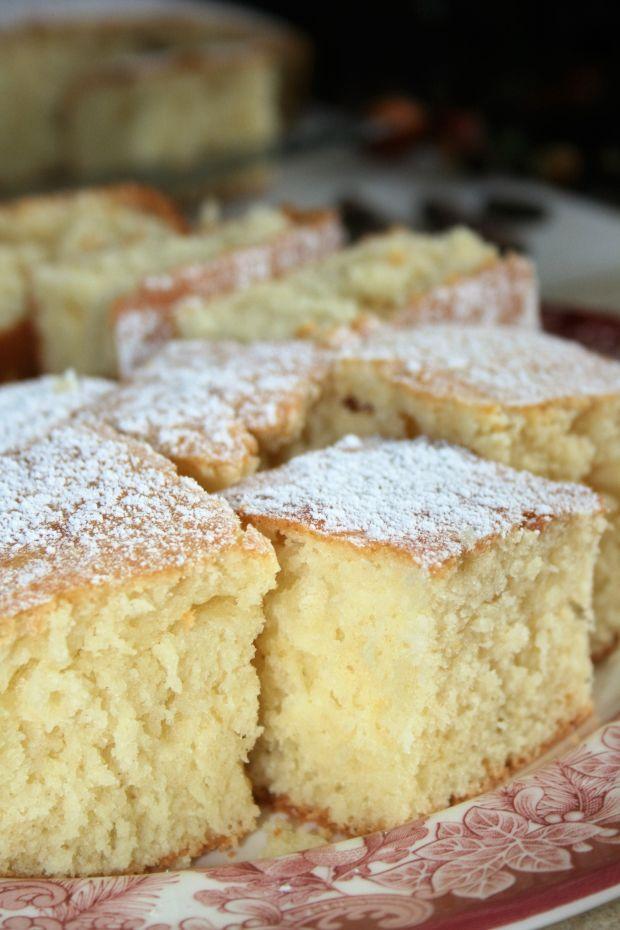 Ciasto maślankowe (szybkie i zawsze się udaje)