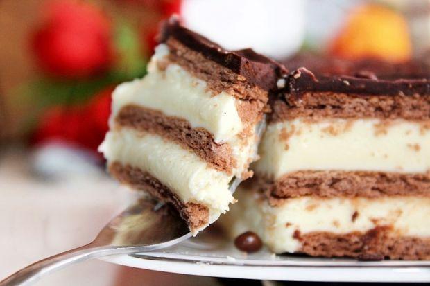 Ciasto Milky Way bez pieczenia