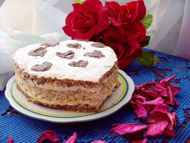 Ciasto miłosne serce