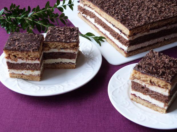Ciasto miodowe z korzenną nutką
