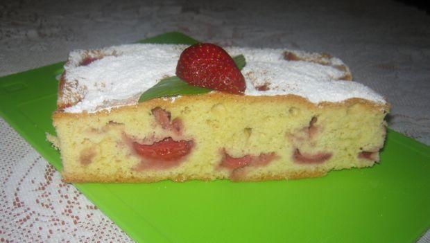 Ciasto na oleju z owocami