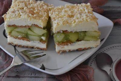 Ciasto nutka Jabłkowa