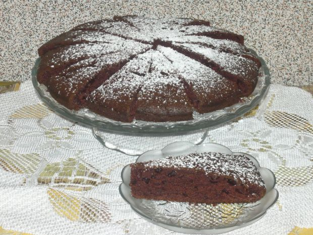 Ciasto orzechowo- cynamonowe