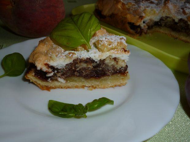 Ciasto Pleśniak z dżemem wiśniowym