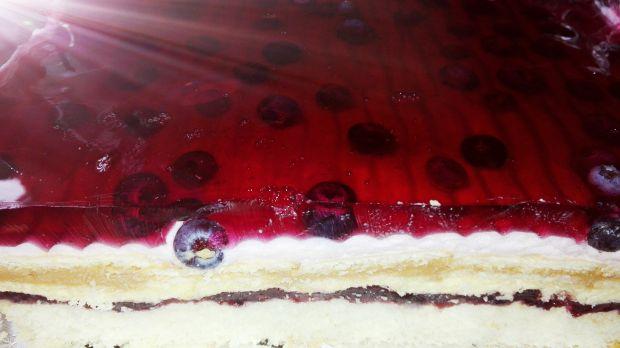 Ciasto podwójnie jagodowe