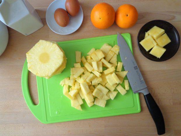 Ciasto pomarańczowo-ananasowe